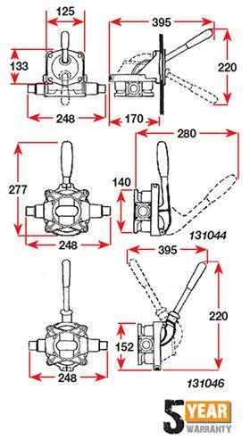 Urchin 131045-diagram
