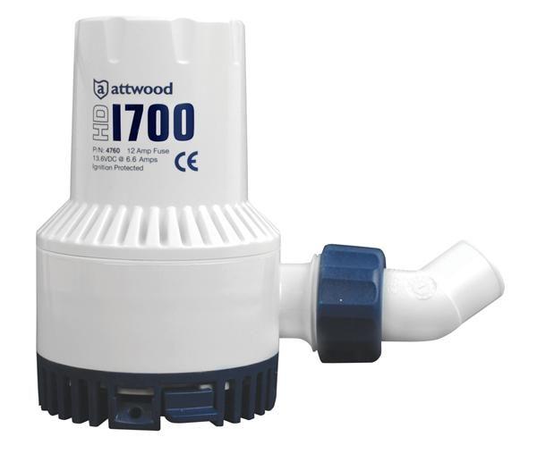 Attwood Heavy Duty Bilge Pump 1700