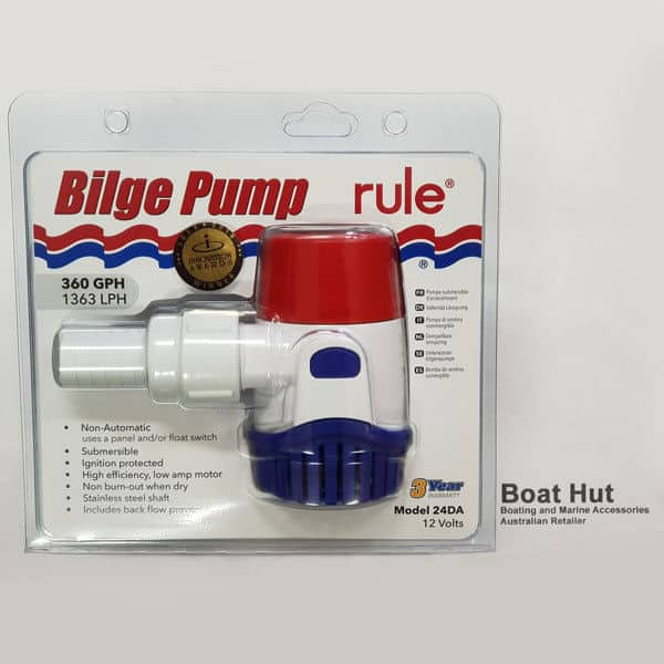 Rule 360 Bilge Pump 12 Volt 24DA Retail