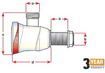Attwood Sahara Automatic Bilge Pump S500 12 Volt 500 Gph