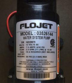 Flojet-Water-Pump-03526144 12 Volt