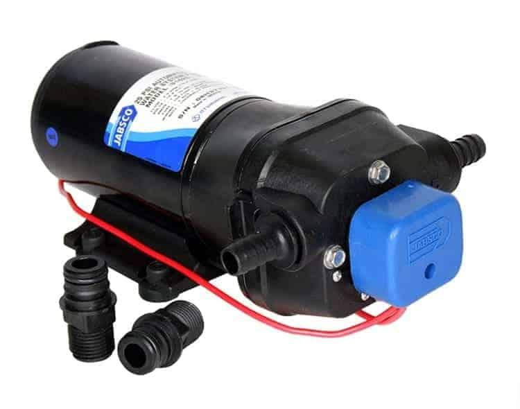 Jabsco PAR-Max 4 High Pressure Water Pump 4 Outlet