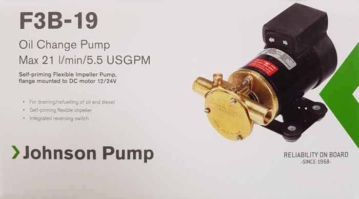 SPX Johnson Oil Change pump F3B-19 1