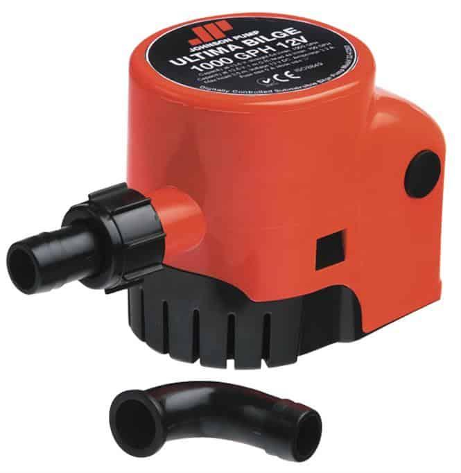 Johnson Ultima 1000GPH Bilge Pump 12 volt