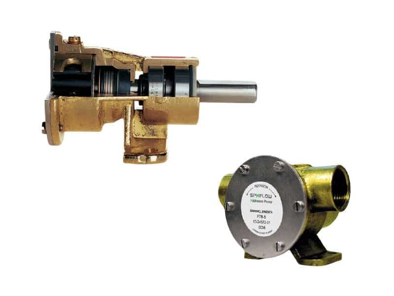 132708 SPX Johnson Heavy Duty Impeller Pump F8B-8