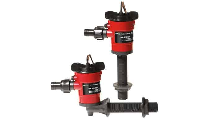 SPX Johnson Aerator Pump 90 degrees 12 volt
