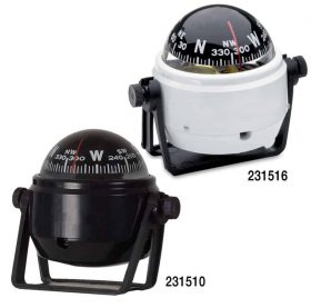 Azimuth Compass 150 Series Bracket Mount 280x277 - Azimuth Compass 150 Series Bracket Mount Black