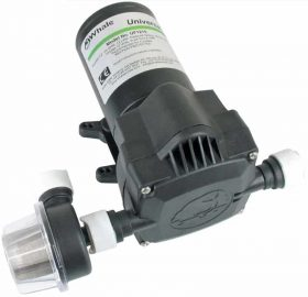 Whale® Universal Pressure Pumps 280x270 - Whale Pump Universal 12 Volt 8L/M 45 PSI UF0815