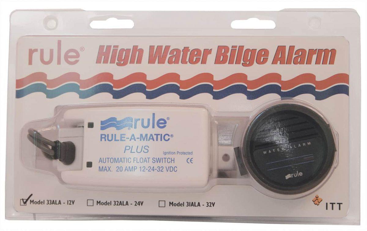 "Rule ""High Water"" Bilge Alarm Kit 12 Volt"