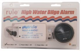 "Rule ""High Water"" Bilge Alarm Kit 12 Volt"
