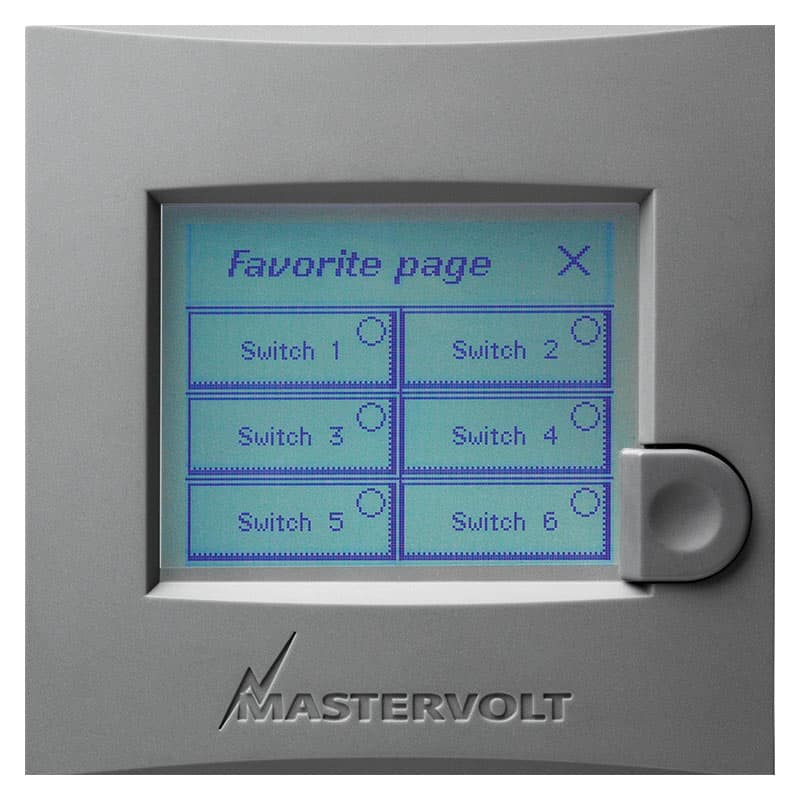 """Mastervolt Masterview Easy Touch Screen 3.5"""""""