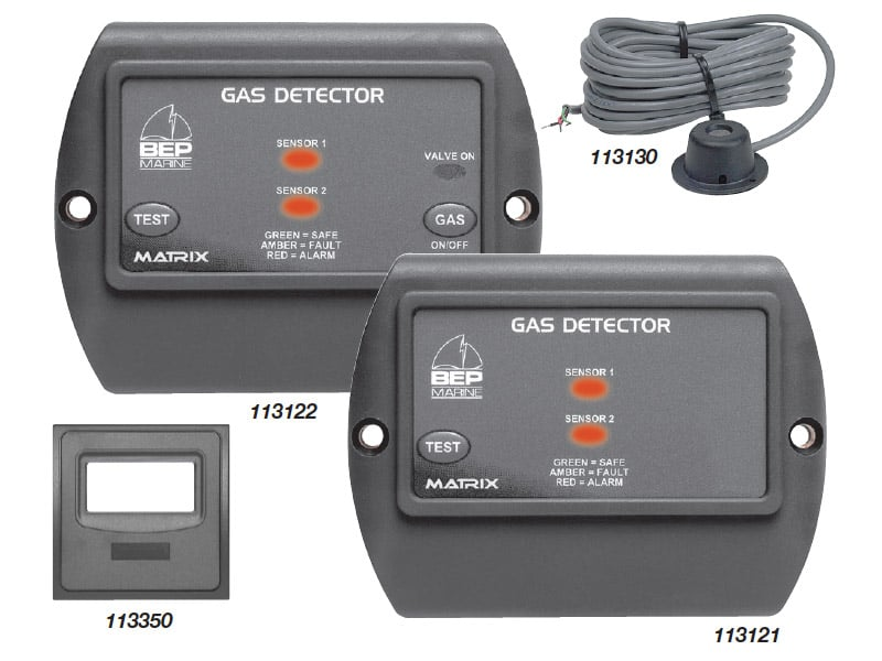 BEP Gas Detector Single Sensor 10-32V