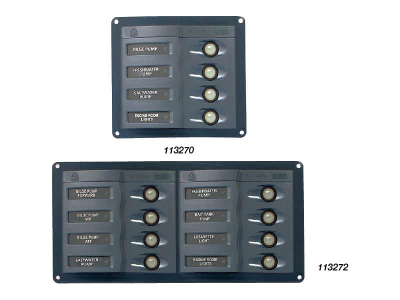 BEP Panel Syst In Op 4 Way 12-24V