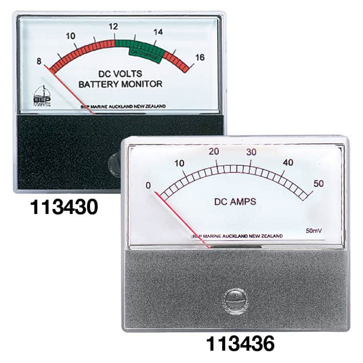 BEP Voltmeter Analog 8-16VDC