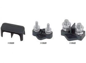 BEP Stud Dual Insltd 6mm Incl Cover Disp-Bep
