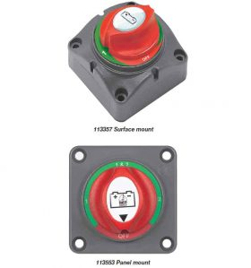 BEP Switch Battery Selector Sml 200A Per Metrent