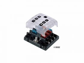 BEP Fuse Holder 6 Way Atc Screw Terminals