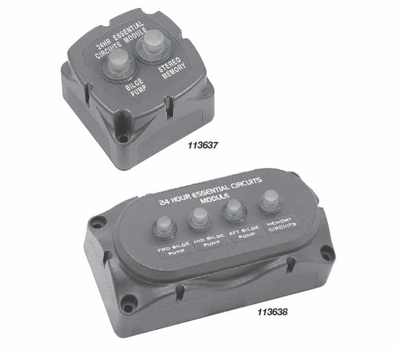 BEP Circuit Breaker Module 24Hr 2Cb