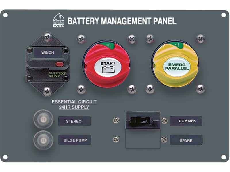 BEP Panel Battery Management Type 4