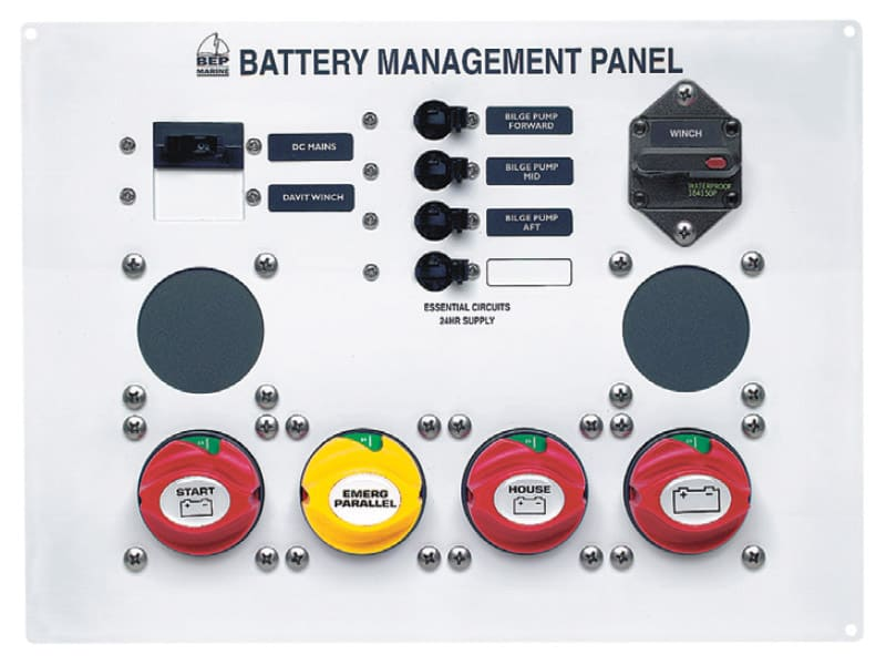 BEP Panel Battery Management Type 1