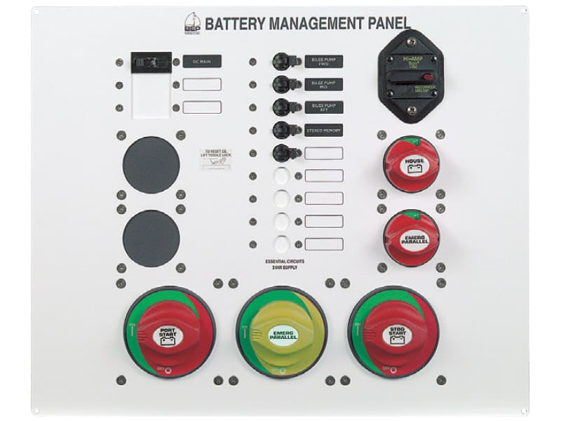 BEP Panel Battery Management Type 3