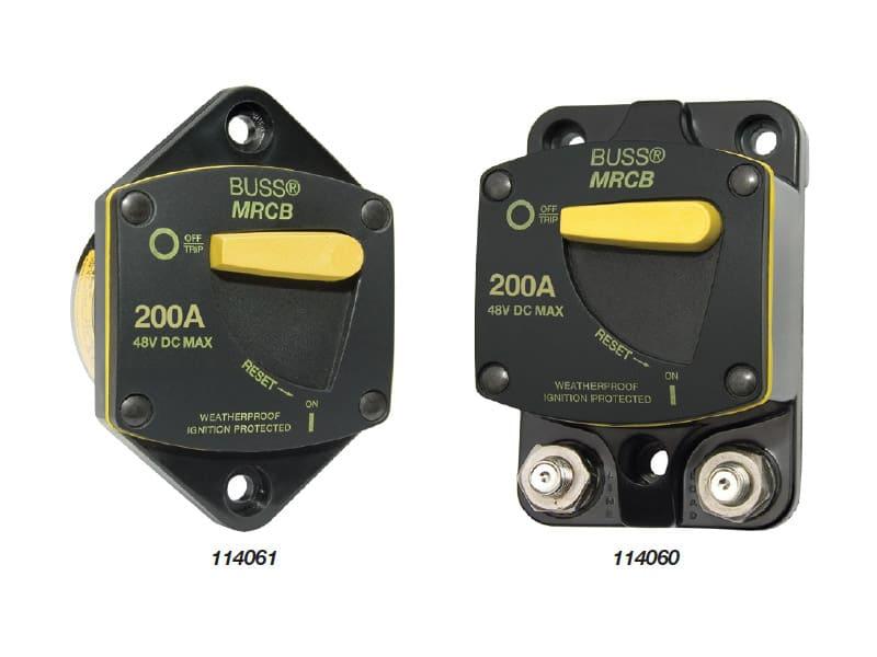 BEP Circuit Breaker H/D Reset Surf Mnt 200A