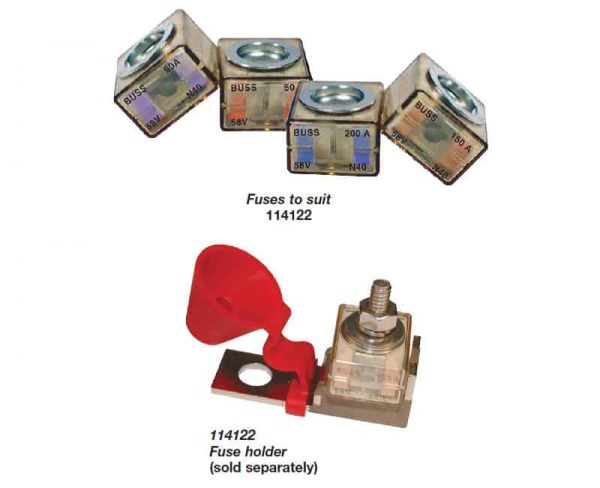BEP Fuse Holdr & Cover Terminal Mount H/Duty