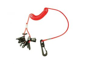 Lanyard Coiled Incl 7 Kill Switch Keys