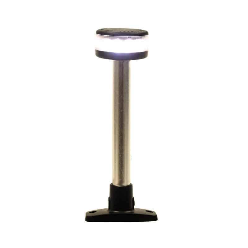 Light Pole 360 Deg Deck Mount 12V Led 190mm