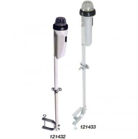 121433 Anchor Riding Light Pole 360 Deg C-Clamp LED