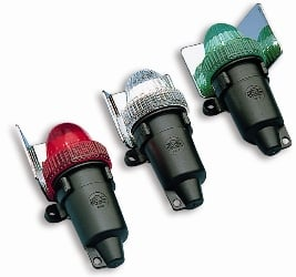 Lights Emergency Nav Batt Op Set Of 3