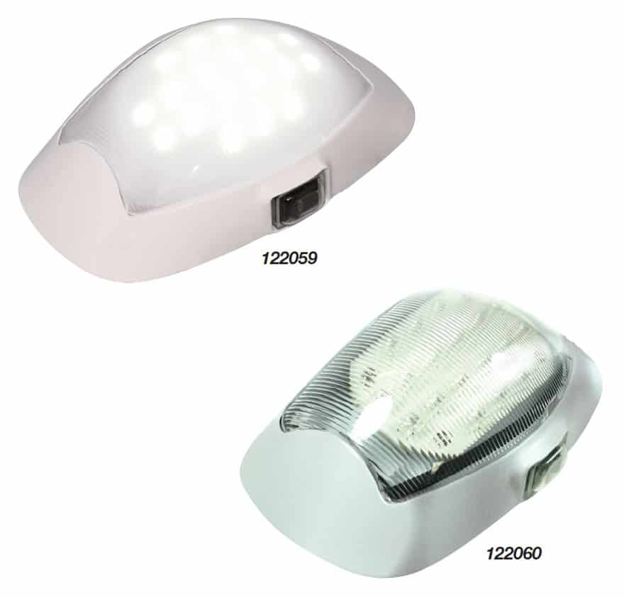 Light Exterior Waterproof White 18 Led