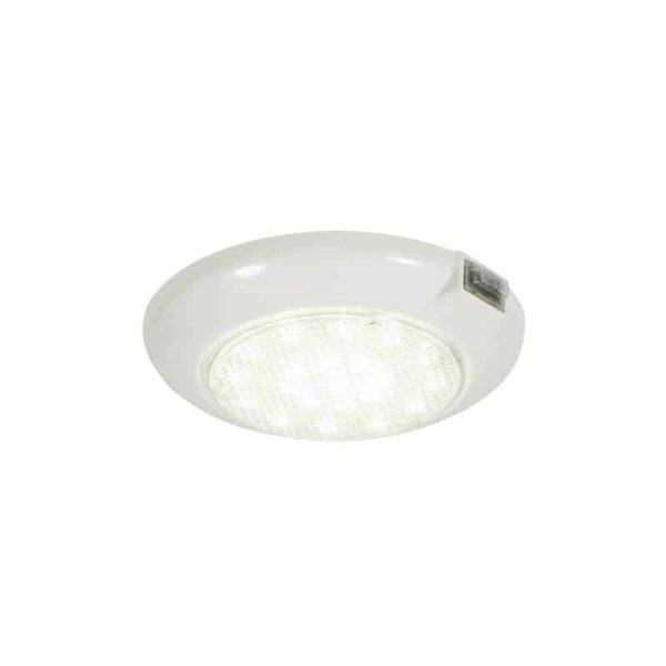 Light Waterproof White With Switch 18 Led 9 Red
