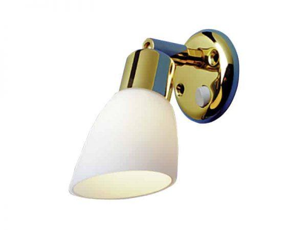 Light Opal Brass/White