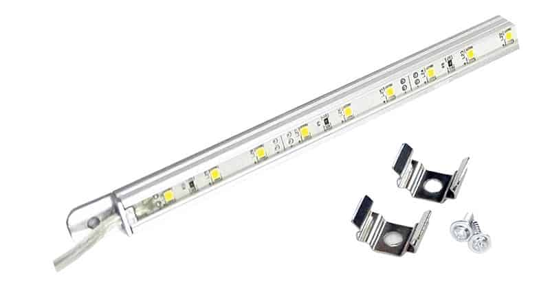 122234 BLA Strip Lighting - LED Aluminium Housed Waterproof Warm White 30 LEDs