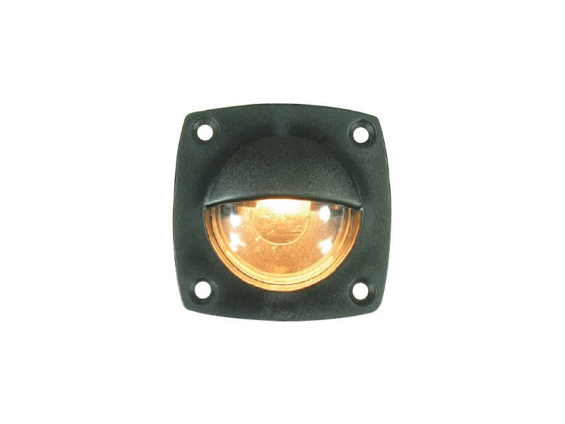 Light Courtesy Black Pvc 12V 5W