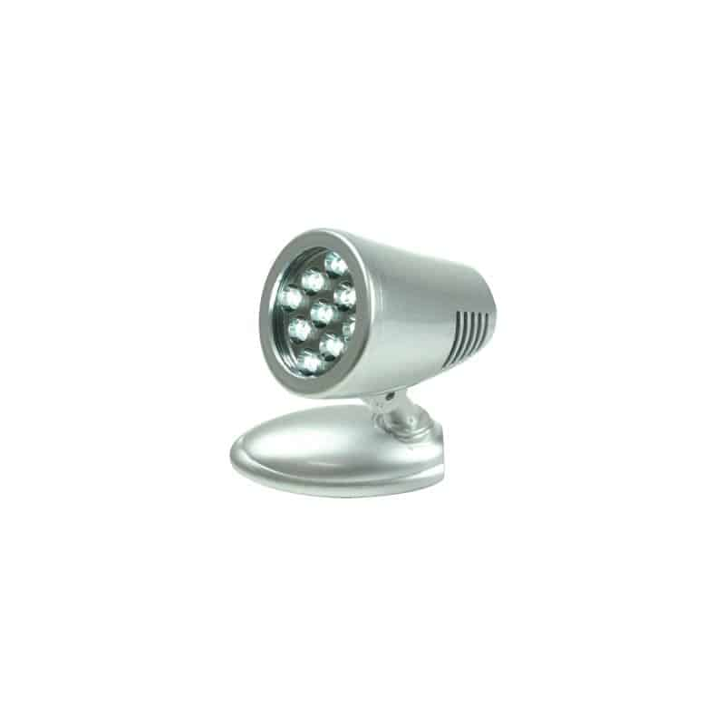 Light Bulkhead S/Grey 9 Super Bright Led