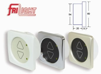 Switch Dimmer 12/24V White