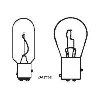 Bulb Bayonet 12V 25W Bay15D