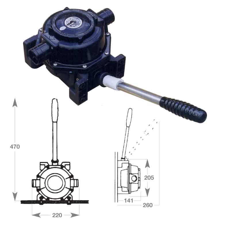 Pump Henderson Mk5 Single Action BP0510