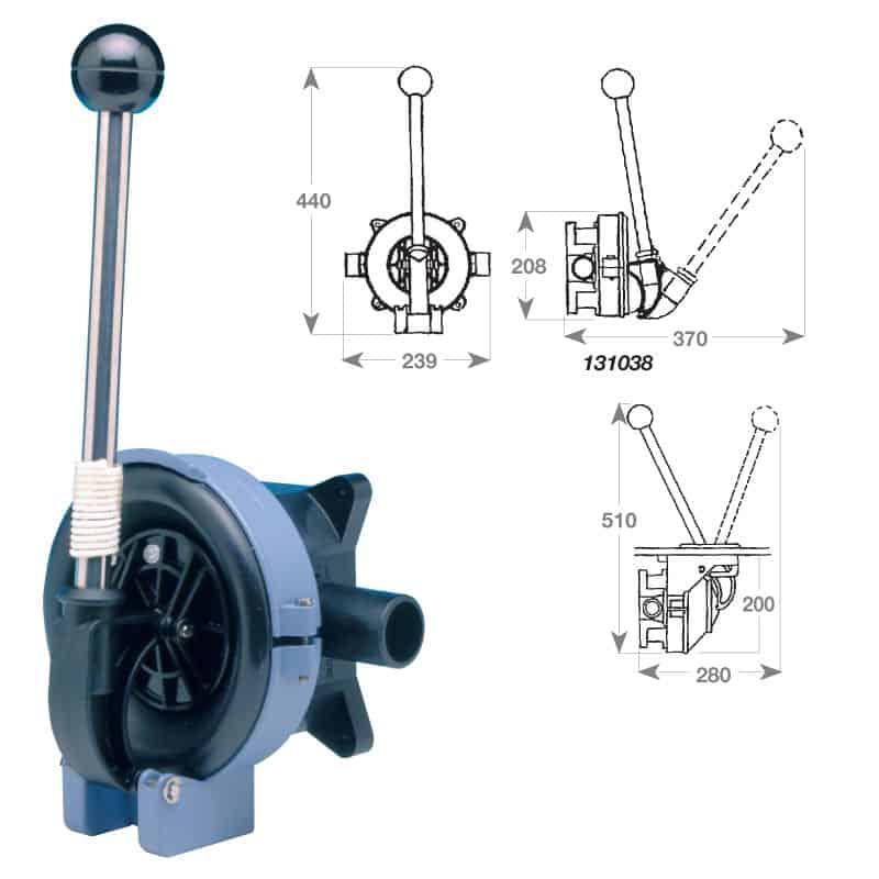 Pump Titan Bulkhead BP4402