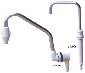 134006 Whale Telescopic Faucets White