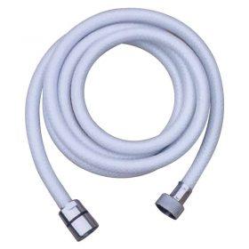 134328 Hose Shower Handset PVC White
