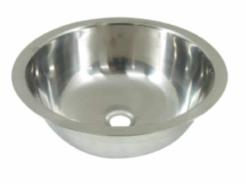 Sink S/Steel Round 280X110mm