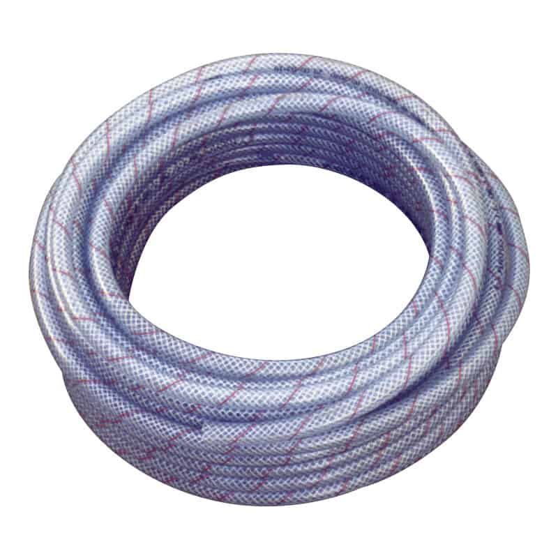 136078 Reinforced Clear Food/Fuel Hose 13mmx20m