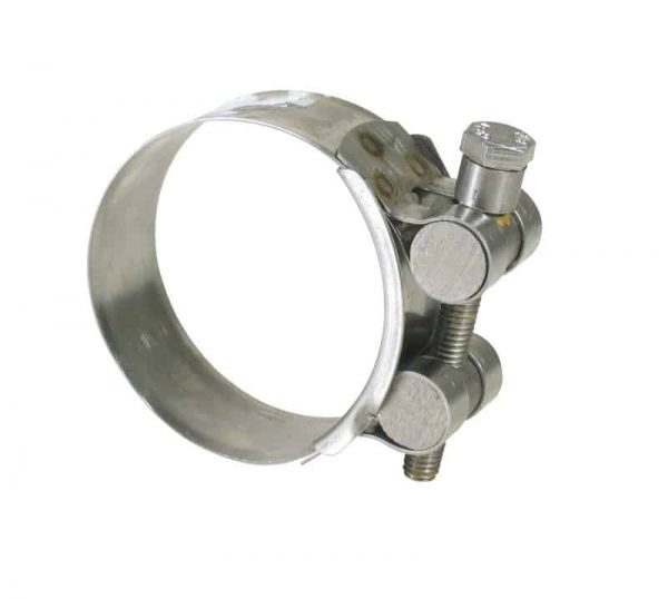Hose Clamp T-Bolt S/S 52-55mm