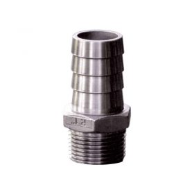 Hose Tail S/S 19mm X 3/4 Bsp