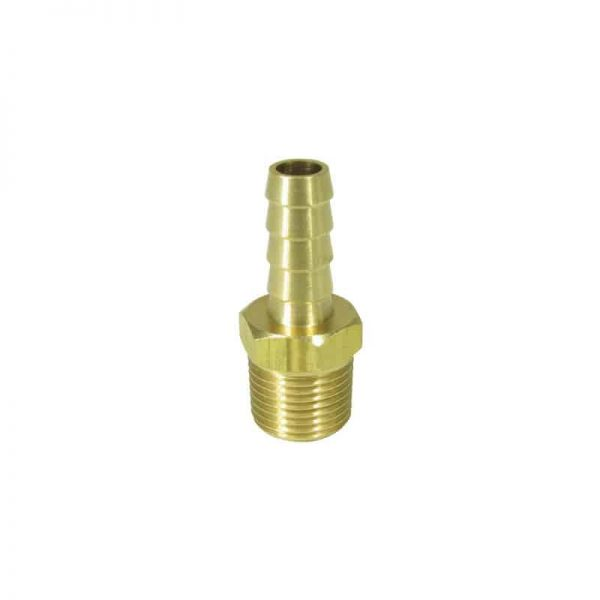 Hose Tail Brass 10mm X 3/8 Npt