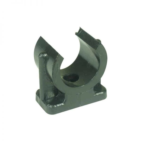 Pipe Clip H/Duty Poly  38mm Id