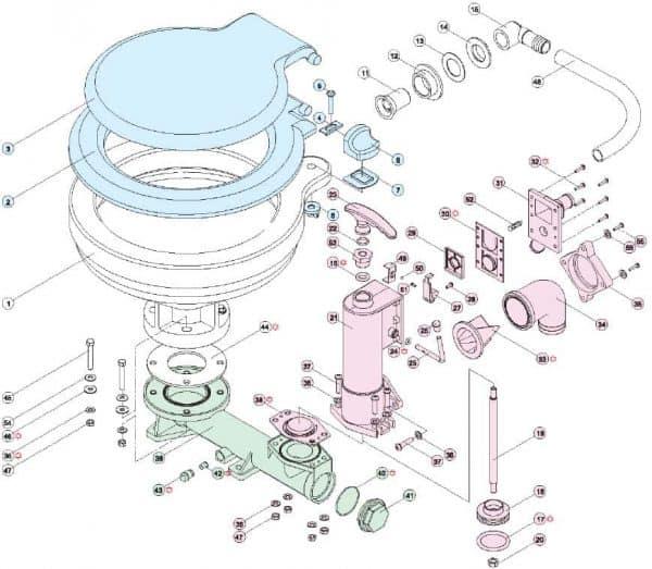 TMC Service Kit Manual Toilets